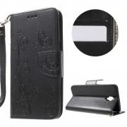 Oneplus 3T / 3 læder cover med lommer og mønster Mobiltelefon tilbehør