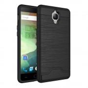 Oneplus 3 cover hybrid med kredit kort lomme sort Mobiltelefon tilbehør