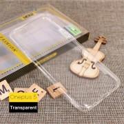 Oneplus 5 tynd tpu bagcover transparent Mobilcovers