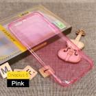 Oneplus 5 tynd tpu bagcover pink Mobilcovers