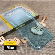 Oneplus 5 tynd blå tpu bagcover Mobilcovers