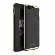 Defender tpu cover Oneplus 5 guld Mobilcover