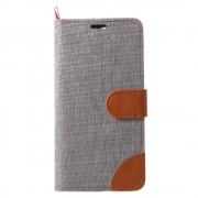 JC-style Oneplus 5 flip cover med lommer grå Mobilcover