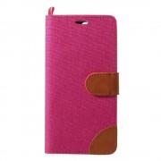 JC-style Oneplus 5 flip cover rosa med lommer Mobilcover
