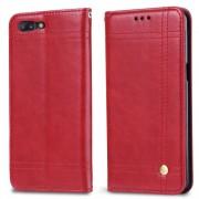 Sting line flip cover rød Oneplus 5 Mobilcover