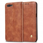 brun Sting line flip cover til Oneplus 5 Mobilcover