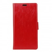 Nokia 8 rød flip cover med lommer Mobilcovers