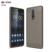 Nokia 8 C-style armor cover grå Mobilcovers