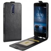 Nokia 8 vertikal cover med lomme Mobilcovers