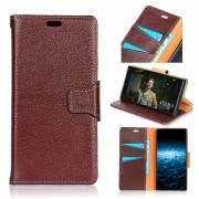 Premium læder cover brun Nokia 8 Mobil tilbehør
