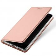 Nokia 8 slim cover med lomme rosaguld Mobilcovers