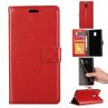 Klassisk flip cover Nokia 3 rød
