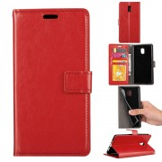 Klassisk flip cover rød Nokia 3 Mobilcovers