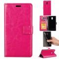 Klassisk flip cover Nokia 3 rosa