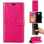Klassisk flip cover rosa Nokia 3 Mobilcovers