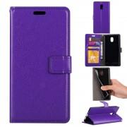 Klassisk flip cover lilla Nokia 3 Mobilcovers