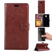 Klassisk flip cover brun Nokia 3 Mobilcovers