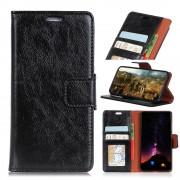 sort Klassisk læder cover Nokia 8 Mobil tilbehør