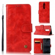 rød Vilo etui Nokia 5 Mobil tilbehør