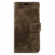Vintage cover brun Nokia 3 Mobilcovers