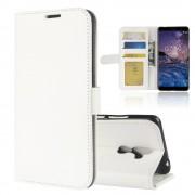 Vilo flip cover hvid Nokia 7 plus Mobil tilbehør