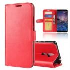 Vilo flip cover rød Nokia 7 plus Mobil tilbehør