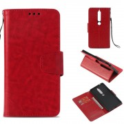 Nokia 6.1 (2018) rød retro cover Mobil tilbehør