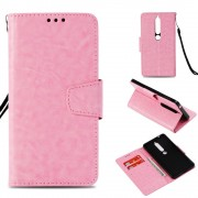 Nokia 6.1 (2018) pink retro cover Mobil tilbehør
