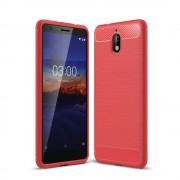 C-style Armor cover rød Nokia 3.1 (2018) Mobil tilbehør