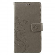 Nokia 6 mobil cover med mønster grå Mobilcover