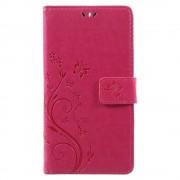Nokia 6 mobil cover med rosa mønster Mobilcover