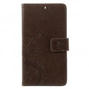 Nokia 6 mobil cover med mønster brun Mobilcover