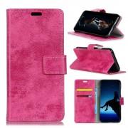 Nokia 3.1 (2018) cover vintage stil rosa Mobil tilbehør