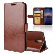 Vilo flip cover brun Nokia 3.1 (2018) Mobil tilbehør