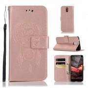Cover med mønster rosaguld Nokia 3.1 (2018) Mobil tilbehør