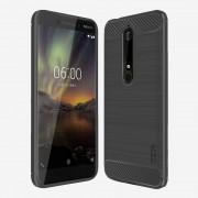 Nokia 6.1 (2018) C-style armor cover grå Mobil tilbehør