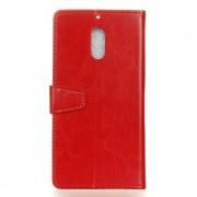 rød Igo flip cover Nokia 5 Mobil tilbehør
