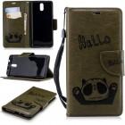 Panda cover armygrøn Nokia 3.1 (2018) Mobil tilbehør