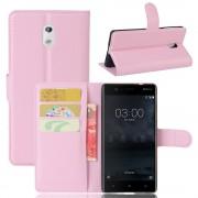 Vilo flip cover pink Nokia 3 Mobilcovers
