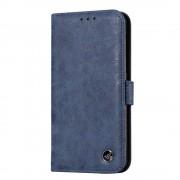 blå Retro flip cover Nokia 6 Mobilcover
