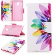 Mønstret flip cover Colorful Petals Nokia 3 Mobilcovers