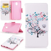 Mønstret flip cover Flowered Tree Nokia 3 Mobilcovers