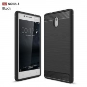 C-style armor cover sort Nokia 3 Mobilcovers