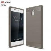 C-style armor cover grå Nokia 3 Mobilcovers
