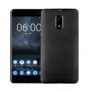 Nokia 6 cover blød tpu carbon Mobilcover