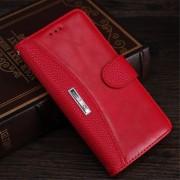 pung cover til Nokia 6 med kortholder rød Mobil cover