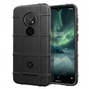 Rugged shield case Nokia 6.2 / 7.2 sort Mobil tilbehør