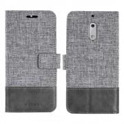 Flip cover combi Nokia 6 grå Mobilcovers