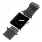 Apple Watch 42 mm Milanese urrem sort Leveso.dk Smartwatch tilbehør
