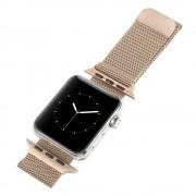 Apple Watch 42 mm Milanese urrem rosa guld Smartwatch tilbehør Leveso.dk
